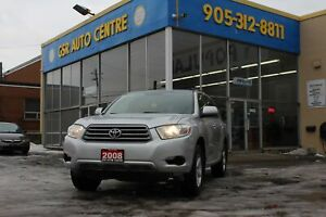 2008 Toyota Highlander 4WD | 8 PASSENGER | ALLOYS | V6 | HEATED
