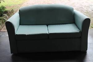 Two seater light green couch/sofa/lounge chair Wilsonton Toowoomba City Preview