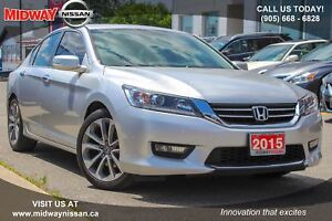 2015 Honda Accord Sport Sport - Moonroof|Bluetooth|Backup Camera