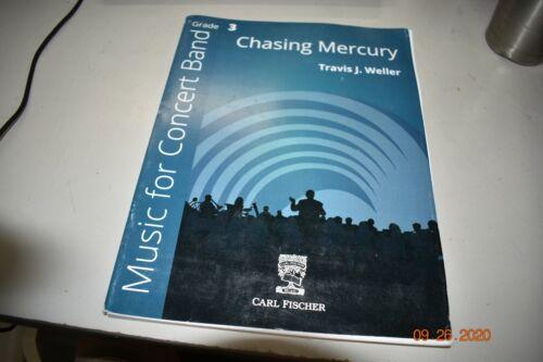 Chasing Mercury CONCERT BAND SHEET MUSIC- Grade 3 Carl Fischer