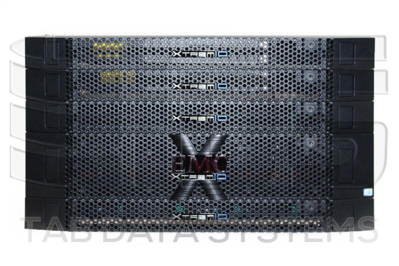 EMC XtremIO 10TB Cluster - 1x X-Brick w/ 25x 400GB SSD