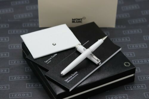 Montblanc PIX White Rollerball Pen and 6CC Card Holder Set - UNUSED