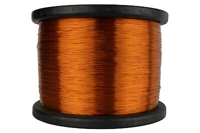 Temco Magnet Wire 26 Awg Gauge Enameled Copper 200c 10lb 12580ft Coil Winding