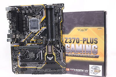 ASUS TUF Z370-Plus Gaming ATX Motherboard [LGA 1151]  [DDR4]