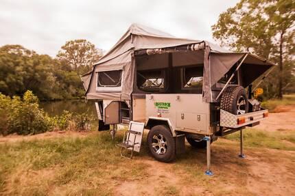 Austrack Campers TELEGRAPH Forward Folding HF Camper Trailer