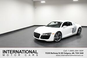2014 Audi R8 6 SPEED MANUAL! MATTE WHITE