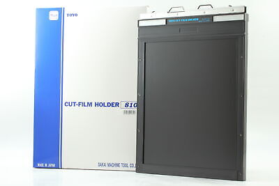 [Unused in Box] TOYO 8x10 8 x 10 Cut Film Holder No.1841 (1 piece) From JAPAN