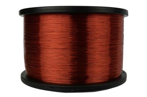 TEMCo Magnet Wire 30 AWG Gauge Enameled Copper 5lb 155C 15660ft Coil Winding