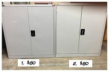 2 Lowline Stationary Cabinets Cupboards Storage Artarmon Willoughby Area Preview