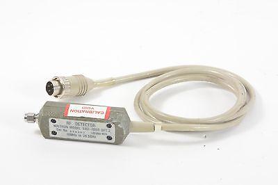 Wiltron 560-7s50 Opt 2 Rf Detector 10 Mhz - 26.5 Ghz