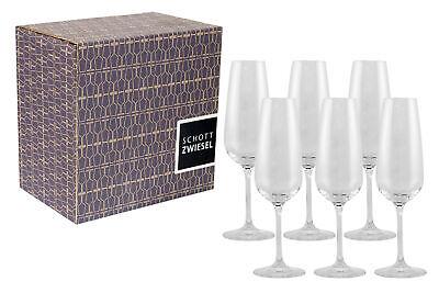 Schott Zwiesel Taste Sektglas 7, 6er Set, Champagnerglas, Proseccoglas 115674