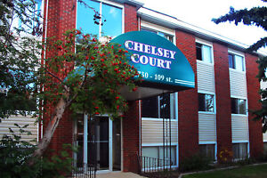 Welcome to Chelsey Apartments 10730 - 109 Street NW