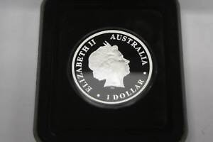 Perth Mint 2011 1oz Silver Proof Coin, Killer Whale $1 Nerang Gold Coast West Preview