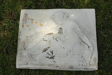 Concrete Garden / Outdoor Lady Wall Sculpture Plaque French Style Hornsby Hornsby Area Preview