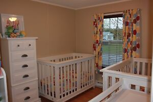 Sold pending pick up -Pali Lucca Convertible Crib and Mattress