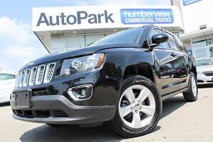 2016 Jeep Compass Sport/North 4X4|SUNROOF|HEATED LEATHER