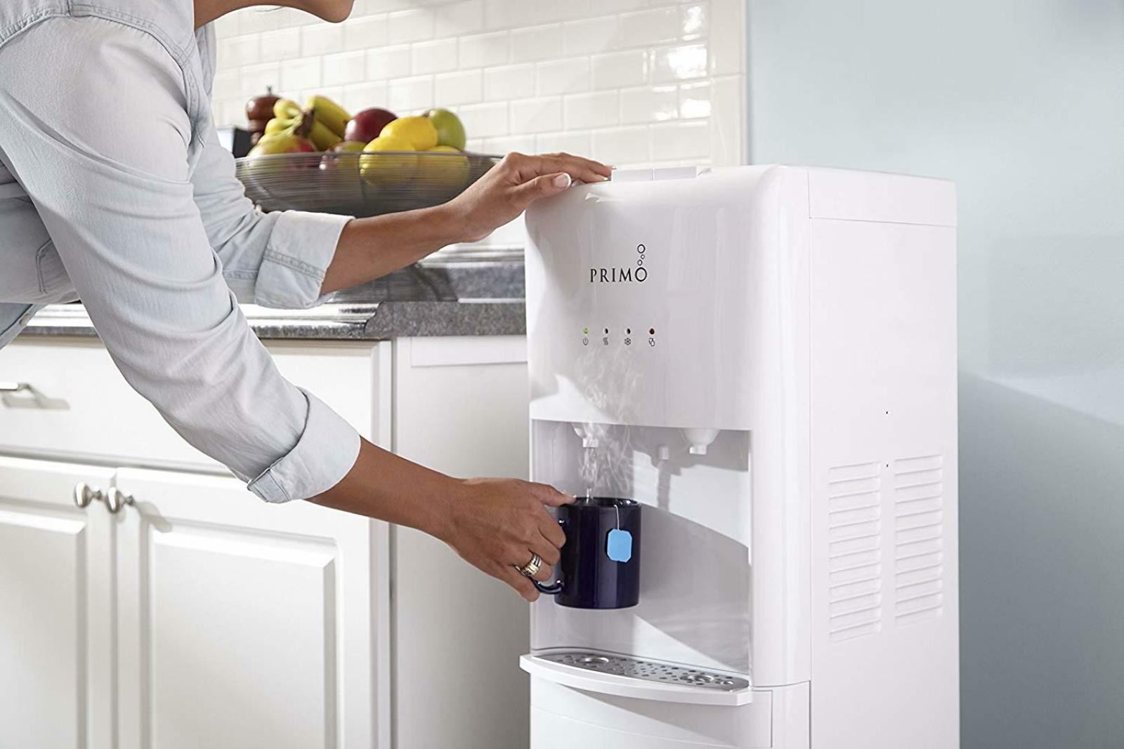 Details about Water Cooler Hot and Cold Dispenser Kitchen Water Filter  Office Home White