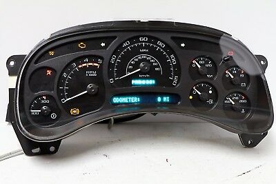 03-05 REBUILT GM GMC DURAMAX ESCALADE Diesel Instrument Cluster $70 Money Back