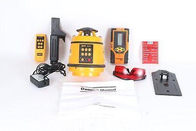 Northwest Nrl802 Self-leveling Rotating Laser With Detector Kit Nrm800 40-6715