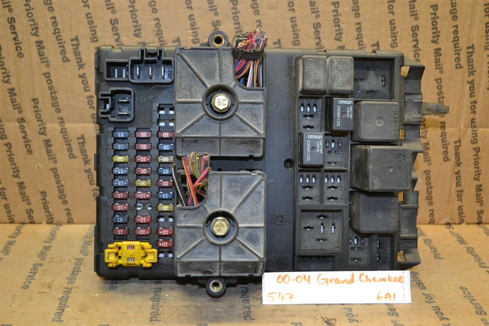 Used 2000 Jeep Grand Cherokee Computers Chips Cruise Control And 2010 Fuse Box 2004 Junction Oem 56042148ag Module 547 6a1