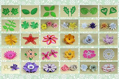 Brother ScanNCut 3D Floral templates CD1002