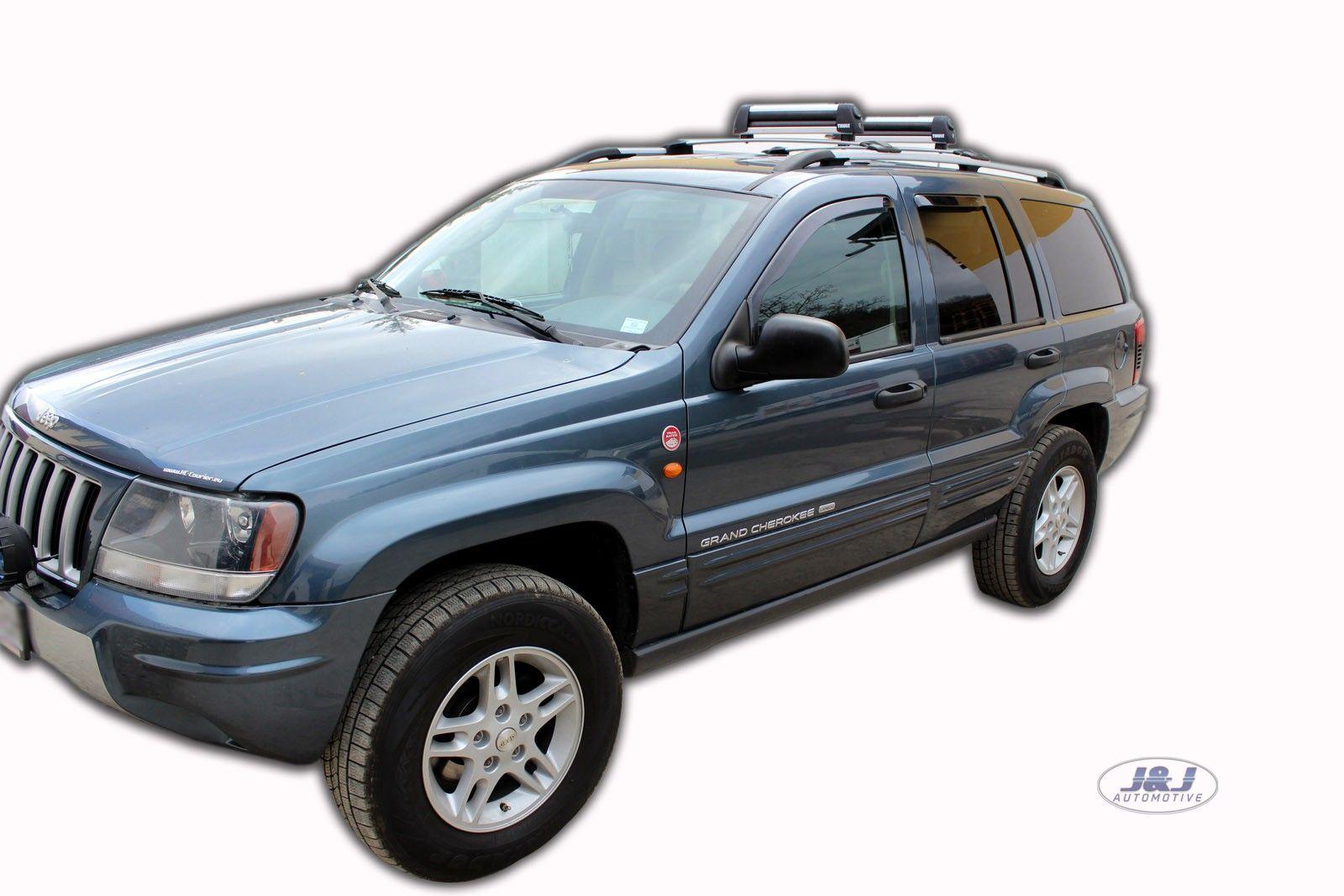 19104 Jeep Grand Cherokee 1999-2005 5 puertas de viento desviadores 4.pc Heko