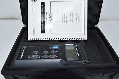 Newport 840-c Handheld Optical Power Meter With Case Manual