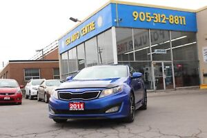 2011 Kia Optima SX | LEATHER SEATS | KEYLESS ENTRY | POWER SEATS