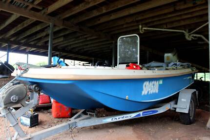 4.1m Aussie Whaler 25hp 4 stroke Honda Bimini Great Fishing Boat