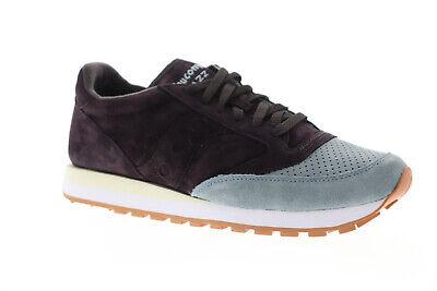 Saucony Jazz Original Suede Mens Purple Suede Low Top Sneakers - Mens Jazz Shoe