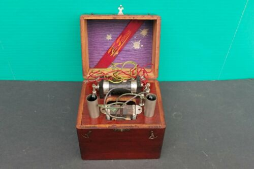 Antique Quack Medicine Whitall Tatum Co THE FLORENCE Electric Shock Device c1885