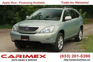 2009 Lexus RX 350 | Sunroof + Leather + CERTIFIED