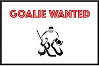 Goalie wanted, Friday nights Richmond Hill