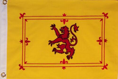 HEAVY COTTON 3 FEET X 5 FEET SCOTLAND LION RAMPANT FLAG - ROYAL FLAG OF SCOTLAND
