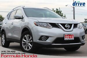 2015 Nissan Rogue SV Bluetooth|Heated & Powered Seats|Rearvie...