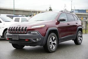 2018 Jeep Cherokee Trailhawk - ALLOY WHEELS, LEATHER, PUSH START