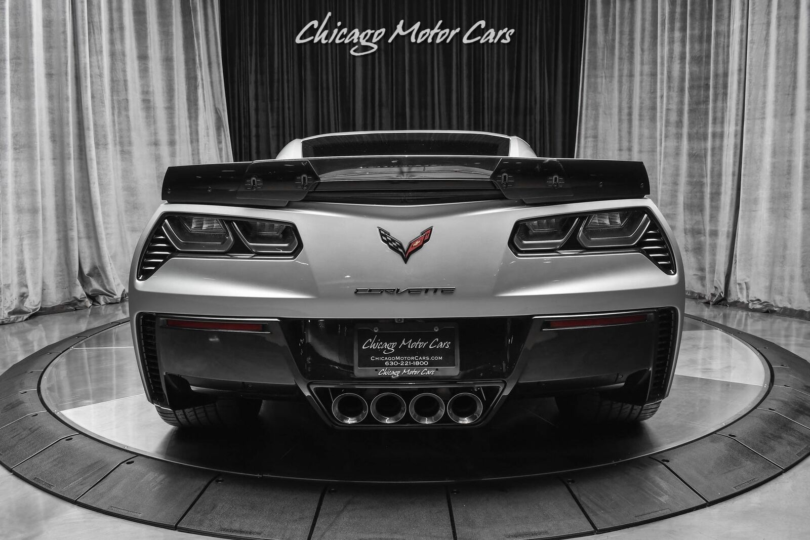 2016 Silver Chevrolet Corvette Z06 3LZ   C7 Corvette Photo 4