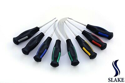 Luxating Root Elevators Tooth Extracting Oral Surgery Black Handle Set Of 8 Pcs