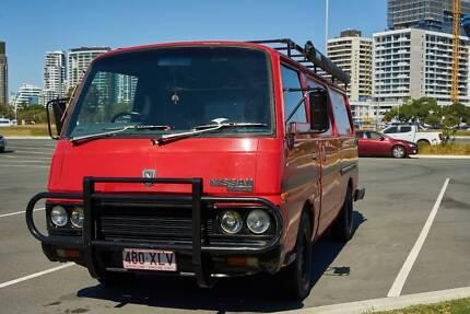 5c4df74752abb5 1985 Nissan Urvan Van Campervan