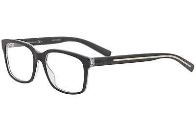 Christian Dior Men's Blacktie Eyeglasses GHA203 GHA/203 Full Rim Optical (Dior Eyeglasses Men)