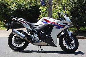 **Price Dropped** 2013 Honda CBR500R (ABS) - White East Lindfield Ku-ring-gai Area Preview