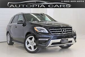 2015 Mercedes-Benz M-Class ML350 BlueTEC 4MATIC/AMG PKG/NAVIGATI