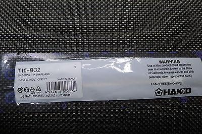 Hakko T15-bc2 Soldering Tip For Fx-951 Fx-950 Fm-204 Fm-203 Fm-202 Fp-102 Fp-101