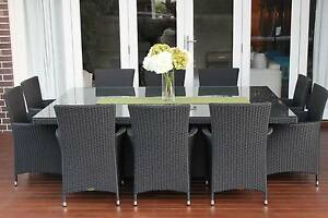 WICKER DINING SETTING,10 SEATS,EUROPEAN STYLED,BRAND NEW Chatswood Willoughby Area Preview