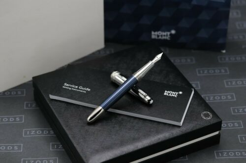 Montblanc Meisterstuck Classique Doue Blue Hour Fountain Pen - UNUSED