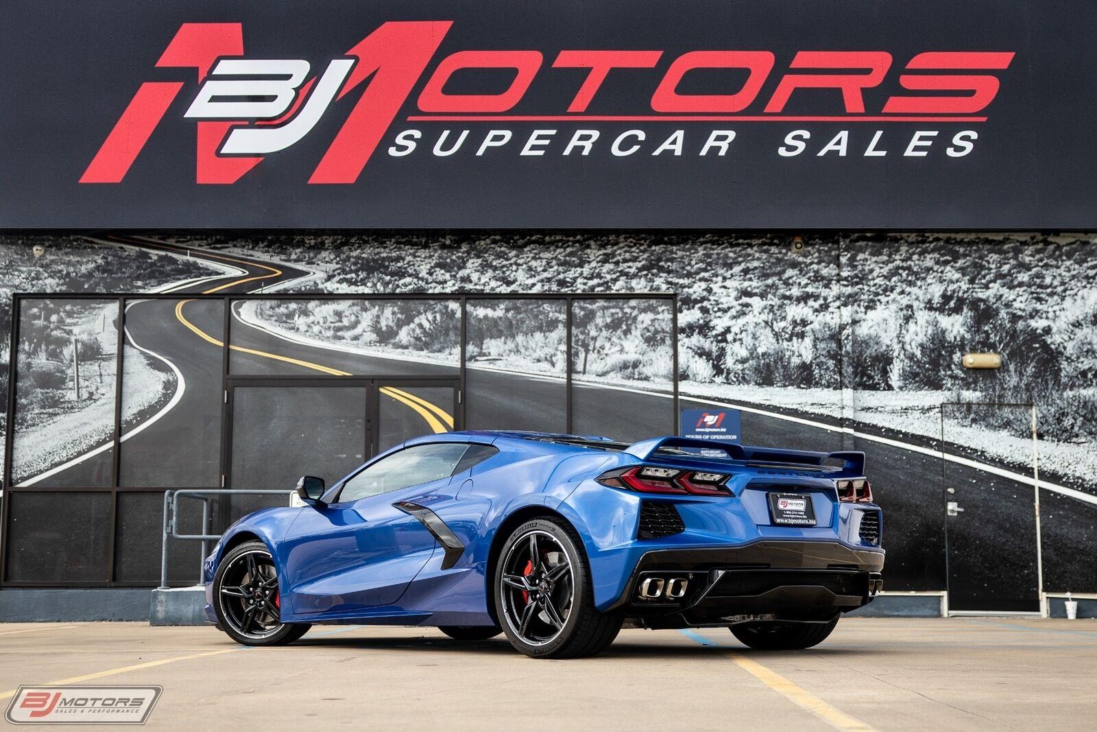 2020 Blue Chevrolet Corvette  2LT | C7 Corvette Photo 2