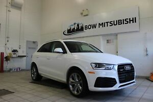 2018 Audi Q3 Progressiv *AWD, LEATHER INTERIOR, BACK UP CAMERA!