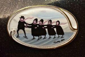 Pat Buckley Moss Ceramic Pin