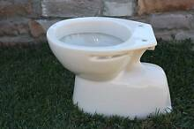Ivory Trident toilet pan by Caroma S trap Marburg Ipswich City Preview
