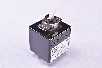 Airpax Circuit Breaker Magnetic 3a Ac Dc Toggle Panel Mount T21-3-3.00a-06-31al